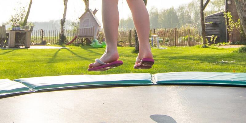 Mini Trampoline - trampoline tuin
