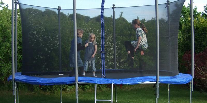 Trampoline Met Net - veilige trampoline