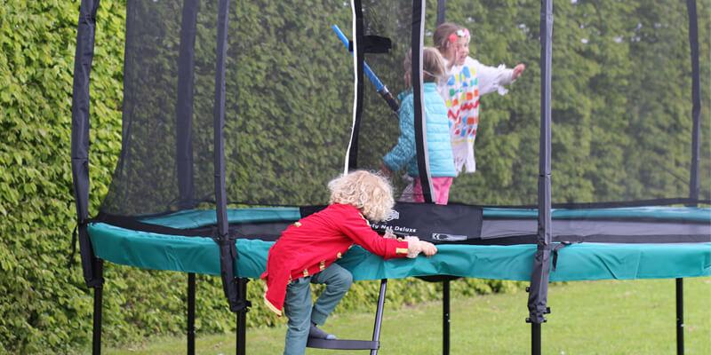 Trampoline Tuin - trampoline voor in de tuin