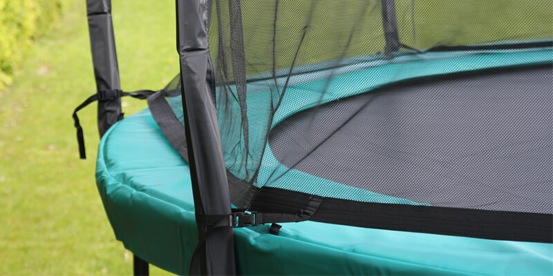 Tuin Trampoline - trampoline met veilige net